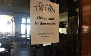 Closed Hotel Bar & Restaurant