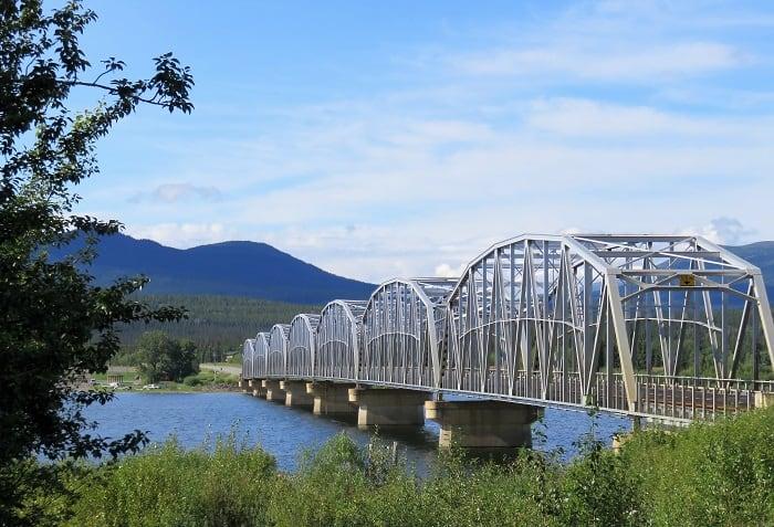 The Bridge Across Nisutlin Bay