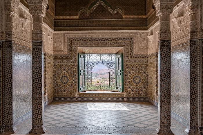 Interior of Kasbah Telouet