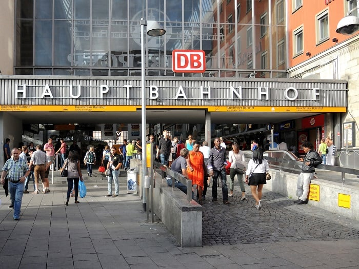 Munich Hauptbahnhof - Central Train Station