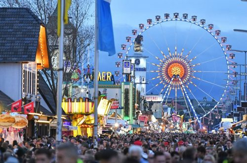 Oktoberfest Wiesn - Munich