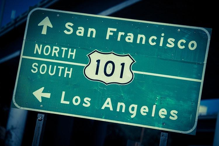 San Francisco to Los Angeles via Highway 101