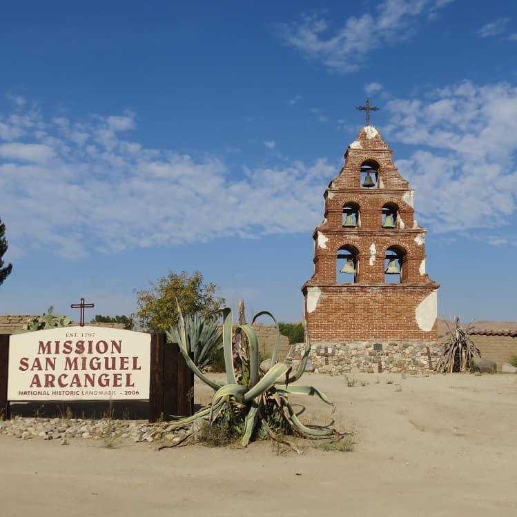 Mission San Miguel Archangel - San Francisco to Los Angeles via Highway 101