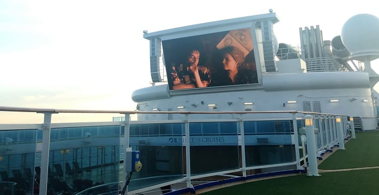 Movies at Sea - Panama Canal Cruise