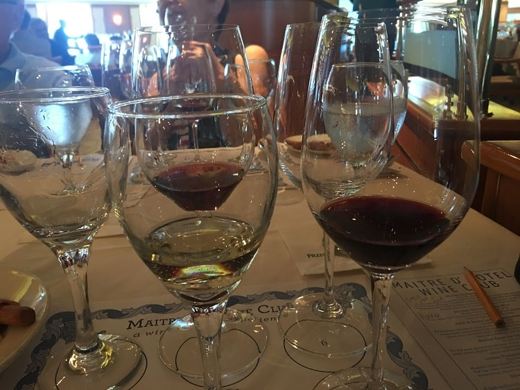 Wine Tasting on the Coral Princess Panama Canal Cruise