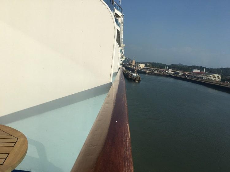 Coral Princess Entering-the Panama Canal