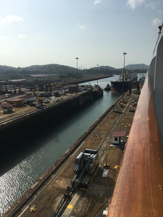 Ship-Entering-Adjacent-Canal-Behind-Us