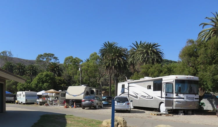 Camping on the Beach - San Francisco to Los Angeles Via Highway 101