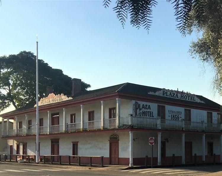 Old Hotel In San Juan Bautiste CA