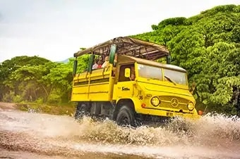 Panama Canal Cruise - 4-Wheel Truck Adventure
