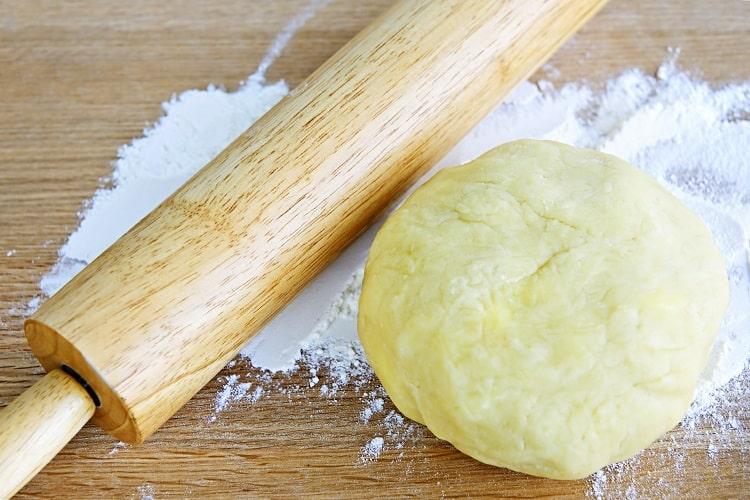 Scottish Shortbread Cookie Dough