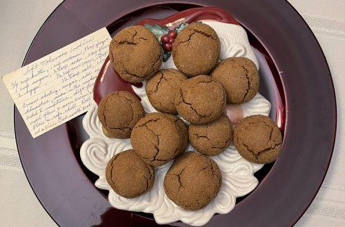 Soft Molasses Cookies Ready for Santa