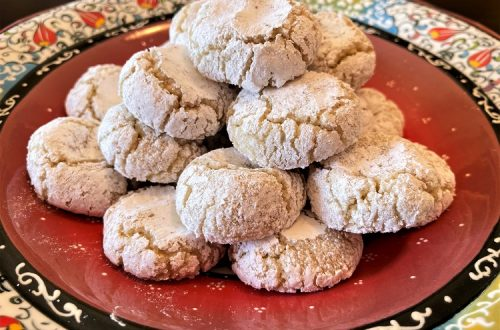 Chewy Amaretti Cookies