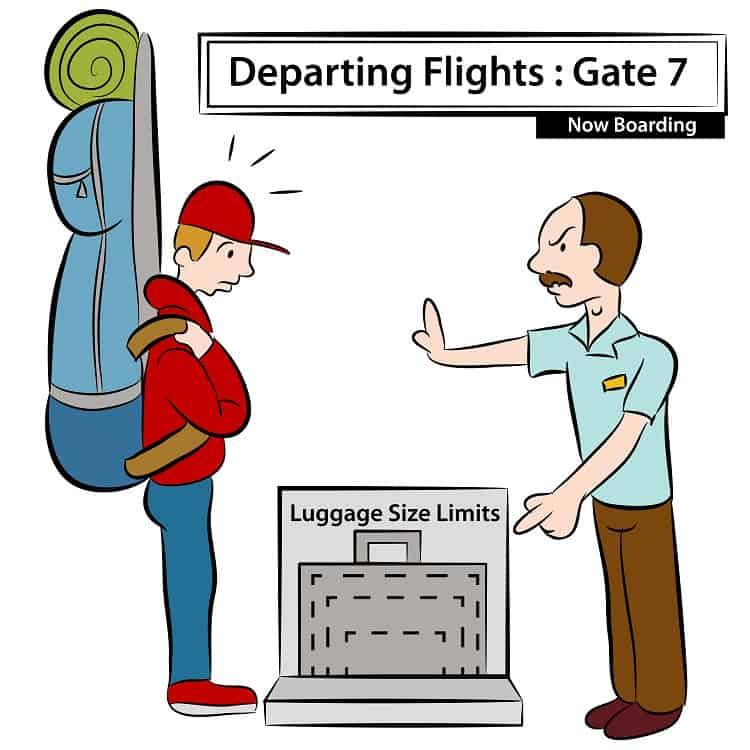 Luggage Limit Size