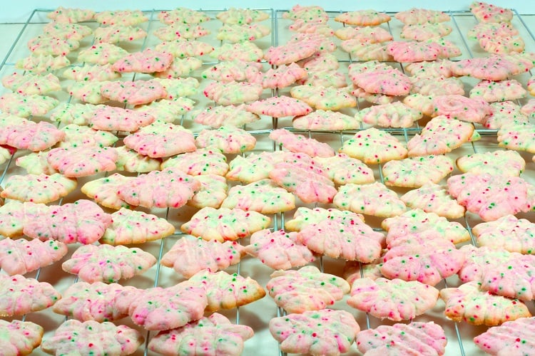 Irresistible Holiday Cookies - Spritz Christmas Trees