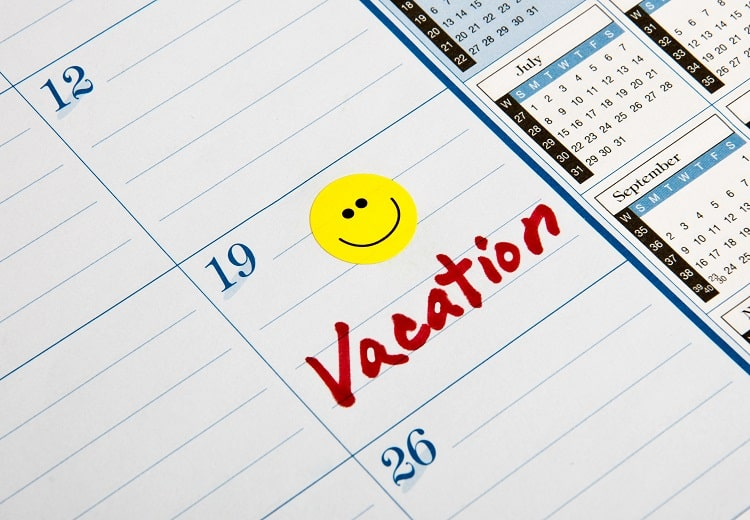 How to Plan A Trip - Vacation Calendar