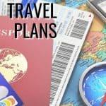 Organizing Travel Plans