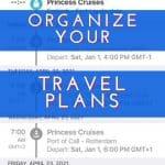 Organize Travel Plans