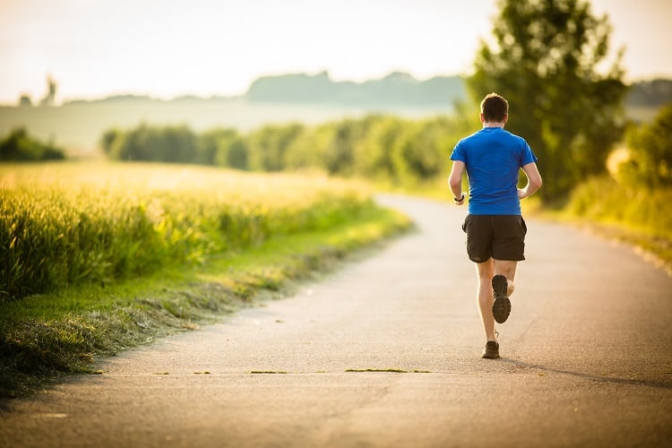 Running is great to get your heart rate up