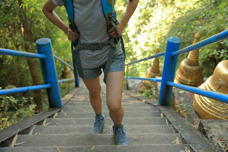 Why Its Important to Get In Shape For Travel - Stair Climbing