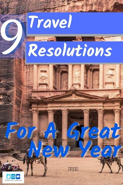 Travel Resolutions for The New Year - Petra