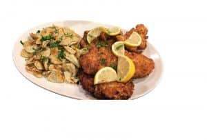 Chicken Schnitzel & Spaetzel Dinner