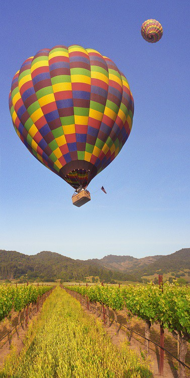 Splurge On A Hot Air Balloon Flight!