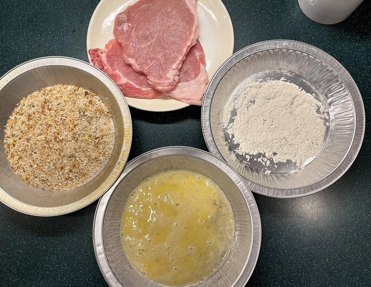 Pork Milanese Ingredients 1