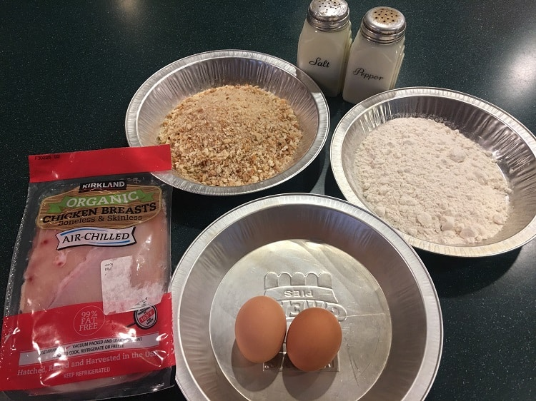 Schnitzle-Ingredients
