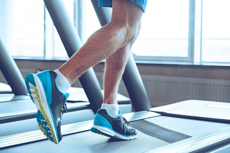 Don't Choose Your Romantic Getaway To Start A New Fitness Program - Man Running on Treadmill