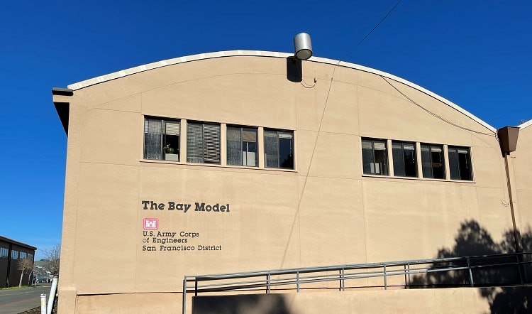 San Francisco Bay Model - Free things to do in Sausalito