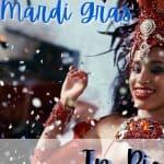 Mardi Gras Samba Dancer