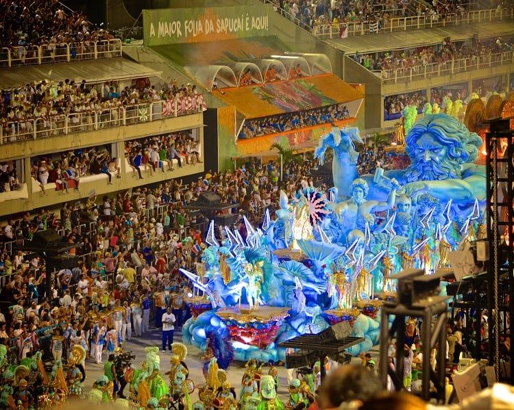 Mardi Gras Carnival in Rio de Janeiro