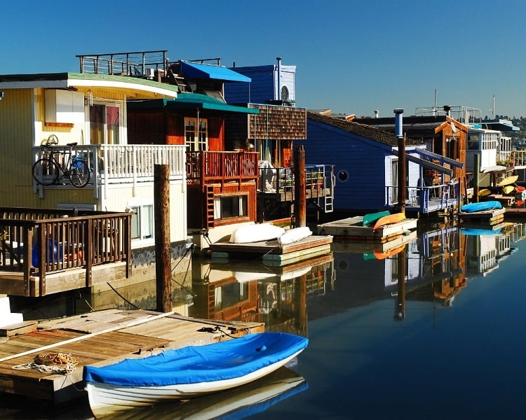 Things to do in Sausalito - See the Houseboats!