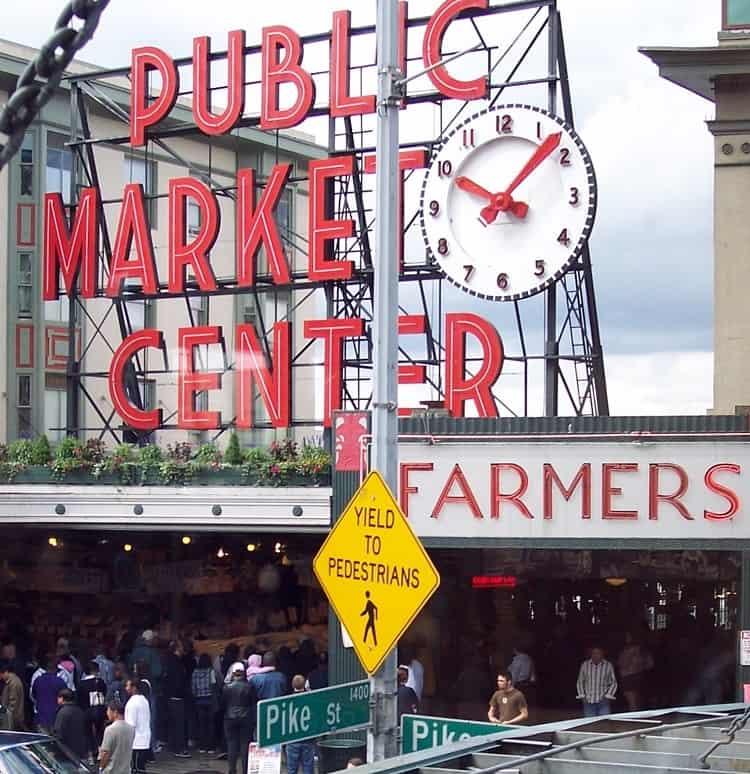 Public Market in Seattle aka Pike Place Market