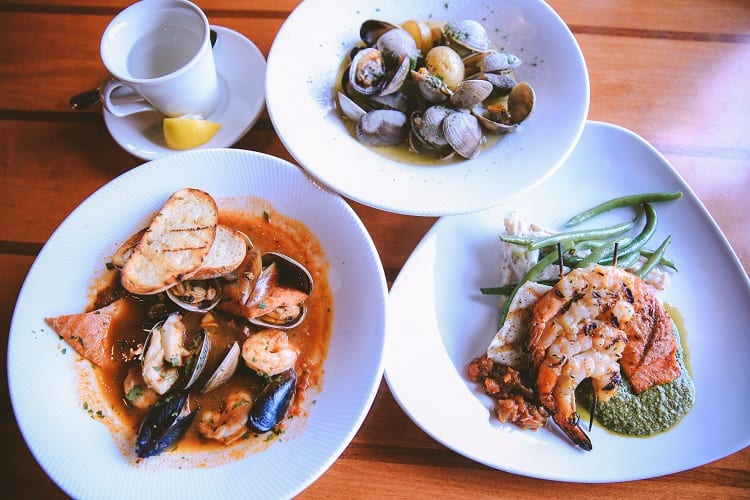Seafood Dinner in Seattle
