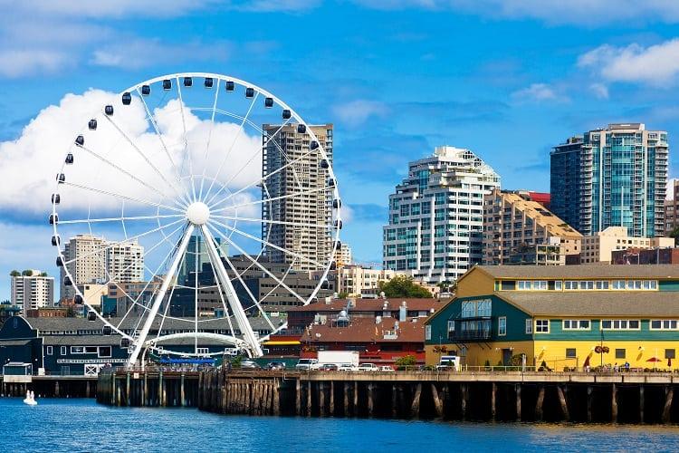 Seattle's Waterfront Ferris Wheel