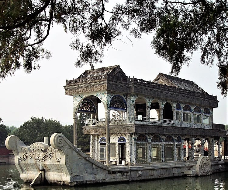 Summer Palace Beijing - Marble Boat