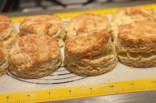 Homemade Buttermilk Biscuits Fresh From the Oven