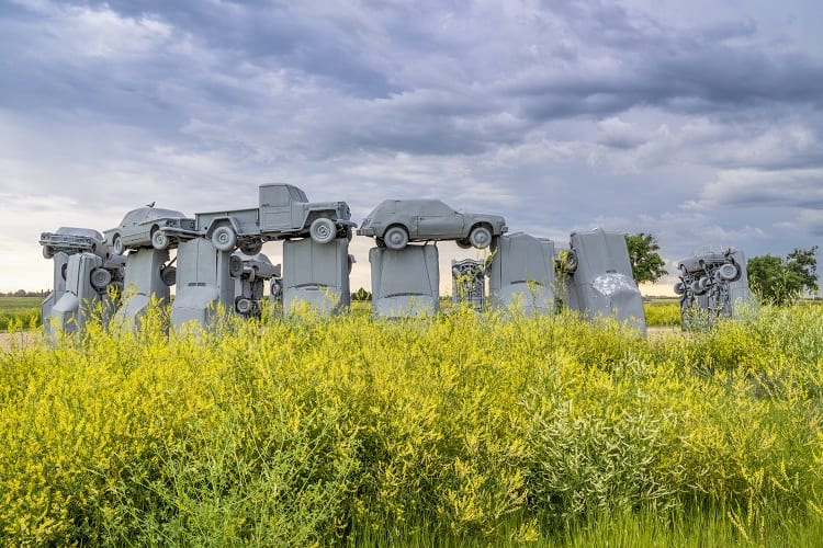 Things to do on a long car ride - See Carhenge