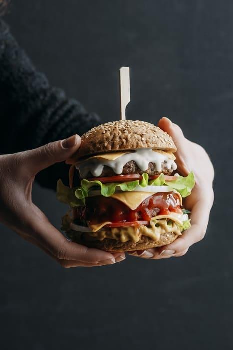 Double Decker Hamburger