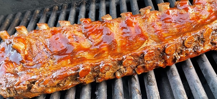 Baby Back Ribs on the Grill