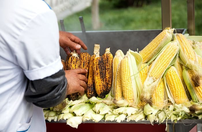 Roasted Corn -  A Delicious Street Food