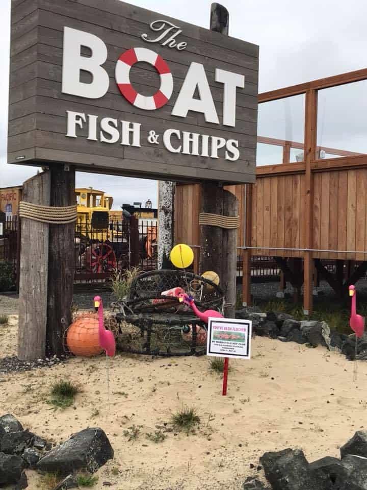Boat Fish &  Chips - Coos Bay Oregon