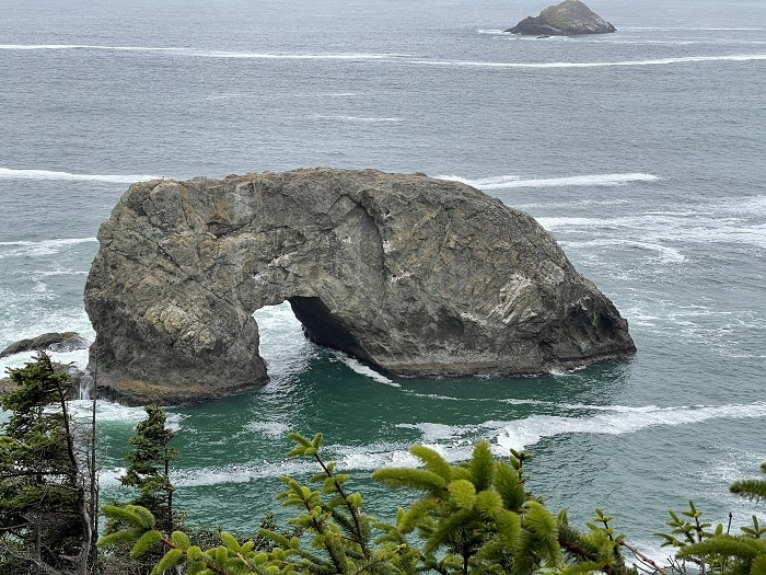 Arch Rock Coastal Oregon