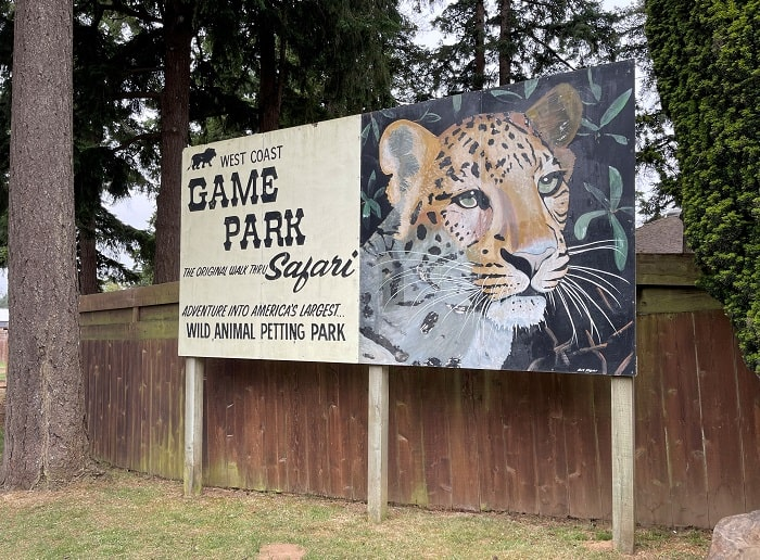 West Coast Game Park Safari Oregon