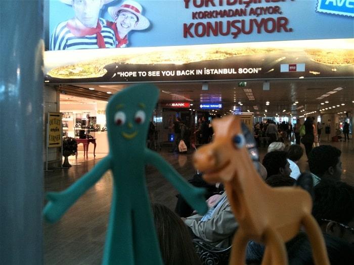 Gumby & Pokey in Istanbul