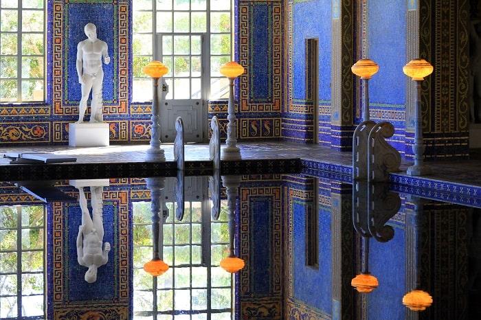 Indoor Pool at Hearst Castle - San Simeon California