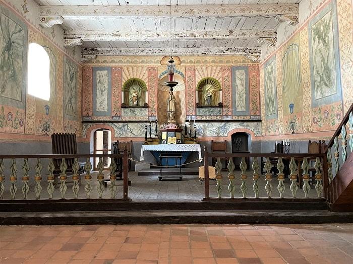 Chapel at Mission La Purisima Concepcion
