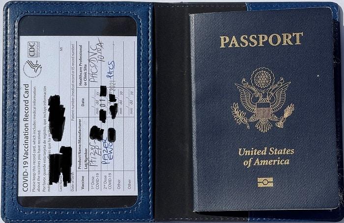 Passport Vaccine Card